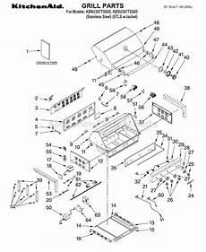 Kitchenaid Parts Order by Kitchenaid Kbnu367tss0 Bbq Parts