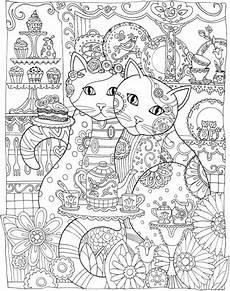 freebie cat mandala coloring page sting