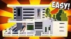 Minecraft Big Modern House Mansion Tutorial How To