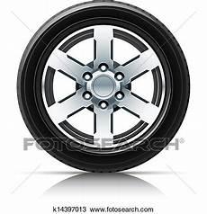 roue de voiture dessin roue voiture clipart k14397013 fotosearch