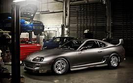Toyota Supra Sports Car Grey Front Subaru