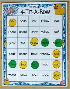 activities for teaching the oa ow oe digraphs make take