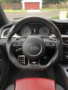 audi b8 5 s4 s5 rs5 s6 s7 rs7 carbon fiber napa steering wheel eurozone tuning