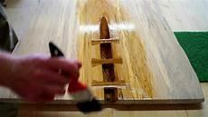 Versiegelung Der Tischplatte Quot Drei Nussbaumschwalben