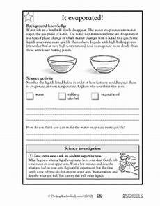 5th grade science worksheets it evaporated greatschools