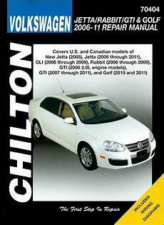 download car manuals 2007 volkswagen rabbit spare parts catalogs vw jetta rabbit gti golf repair manual 2006 2011 chilton