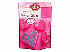 ruf mirror glaze pink 100g glasuren backfun