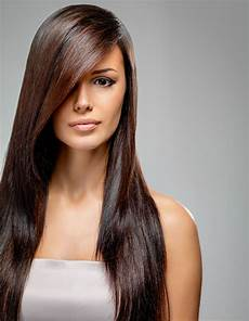 Lange Haare Frisuren - elegante ballfrisur offen und glatt gestylt sch 246 ne