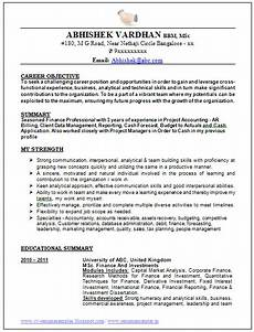 best resume format of 2015 page 1 best resume format