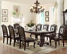 7 pc english antique formal dining room furniture table