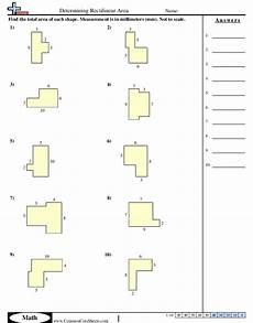 area perimeter worksheets free commoncoresheets