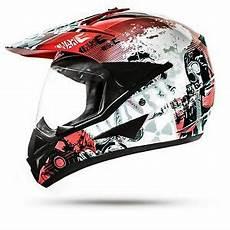 motorradhelm mit schwarzem visier crosshelm atv enduro helm motorradhelm mit visier