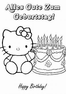 Ausmalbilder Geburtstag Katze Geburtstag Ausmalbilder 15 Ausmalbilder