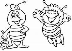 раскраска пчелка майя детские раскраски распечатать