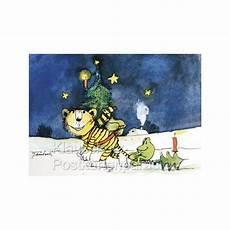 weihnachtskarten janosch tiger und frosch