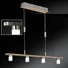 esstisch le led holz dimmbar touch dimmer