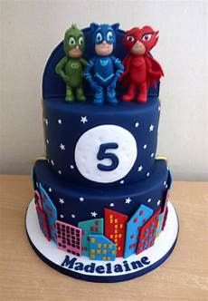 Malvorlagen Pj Masks Cake 2 Tier Half And Half And Pj Masks Birthday Cake