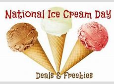 free ice cream day 2019