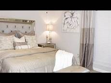 Small Small Simple Bedroom Ideas by Simple Glam Master Bedroom Makeover Small Space