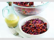 Zesty Red Cabbage Coleslaw with Mojo Criollo Dressing