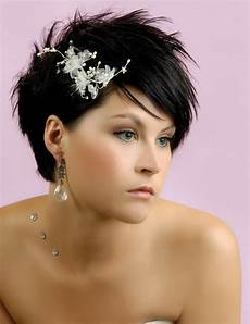 35 lovely wedding hairstyles for short hair slodive