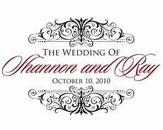 Monogram Wedding Ideas