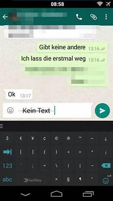 Fett Schreiben In Whatsapp - whatsapp text in fett kursiv durchgestrichen