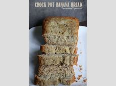 crock pot banana bread_image