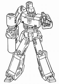 Mewarnai Gambar Robot Transformers Belajarmewarnai Info