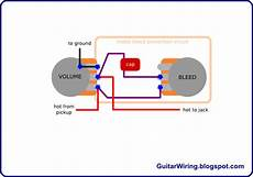 the guitar wiring blog diagrams and tips adjustable treble bleed mod guitar wiring in 2019