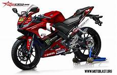 R15 V3 Modif Moge by Modifikasi Striping Yamaha R15 V3 Movistar Motogp 2018