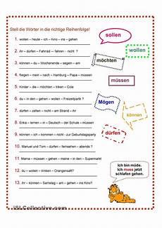pin by perez de la on german modal verben