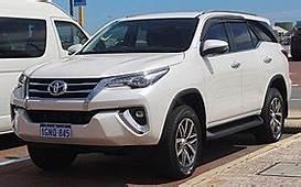 Toyota Fortuner  Wikipedia
