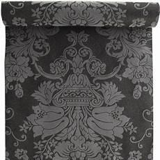 papier peint baroque papier peint 100 intiss 233 baroque paillette noir leroy