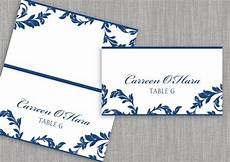 Avery Table Place Card Template Diy Place Card Template Instantly By Karmakweddings