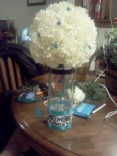 my first try at centerpieces i need opinions weddingbee