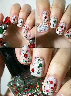 20 fantastic diy christmas nail art designs that are