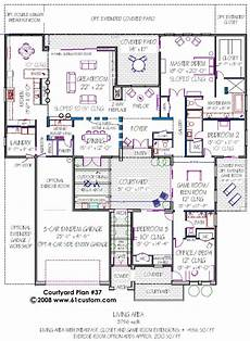 modern house plans with courtyard modern courtyard house plan courtyard house plans