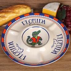 florida gators gameday chip dip serving tray