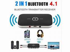 bluetooth transmitter tv test 2in1 bluetooth 4 1 transmitter receiver wireless a2dp