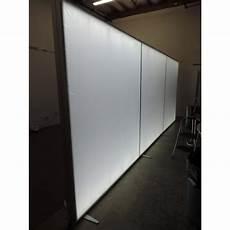 240 quot 96 quot 20ft modular lightbox backlit trade show display