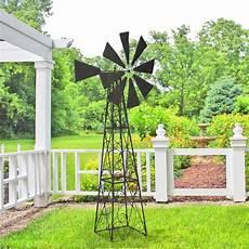 grande girouette eolienne pour jardin en fer forg 233