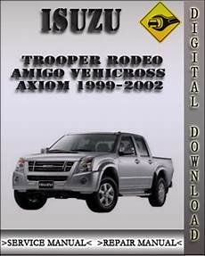 book repair manual 1999 isuzu trooper transmission control 1999 2002 isuzu trooper rodeo amigo vehicross axiom factory service