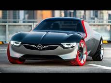 2017 New Opel Gt Concept The Dynamic Driving Machine