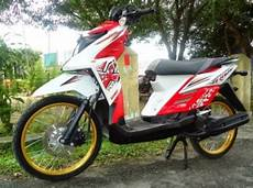 Modifikasi Motor X Ride 125 by Gambar Modifikasi Yamaha X Ride Fi Konsep Cross Dan