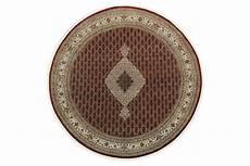 teppich rund beige rot in 250x240 5130 26921 carpetido de