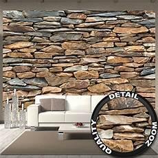 stein muster tapete fototapete schiefer stonewall wandbild dekoration 3d