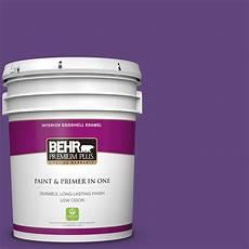 behr premium plus 5 gal home decorators collection hdc md 25 virtual violet eggshell enamel