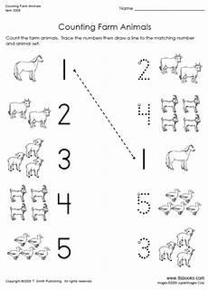 farm animals worksheets for preschool 14135 counting farm animals