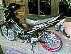 Supra X 100 Modif Standar by Otoeddy S Modified Modifikasi Quot Striping Standar Quot Supra X 125